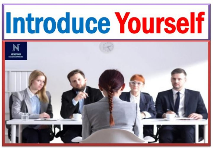 Introduce Myself or Introducing Yourself, Self Introduce in Interview Sample